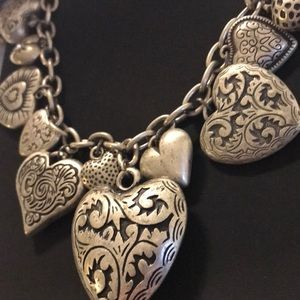 Jewelry - Puffy Heart Necklace